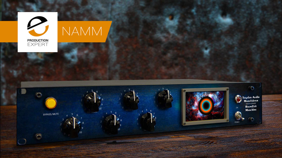 Tegeler Audio Manufaktur Announces Raumzeitmaschine Reverb At NAMM 2018