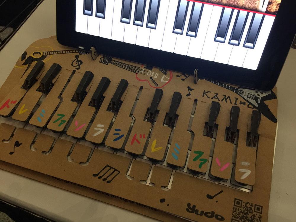 Kami-Oto Cardboard Piano