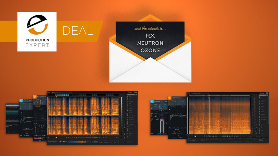 iZotope Announce Award Winners Bundle Deals Until February 20th 2018