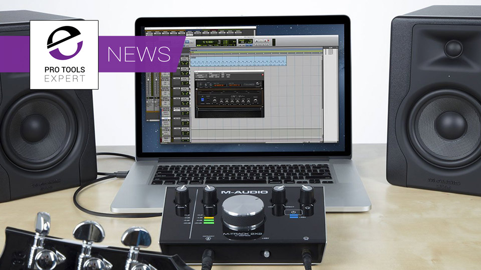 M-Audio Now Includes Pro Tools First Software With Their Audio Interfaces & Controllers