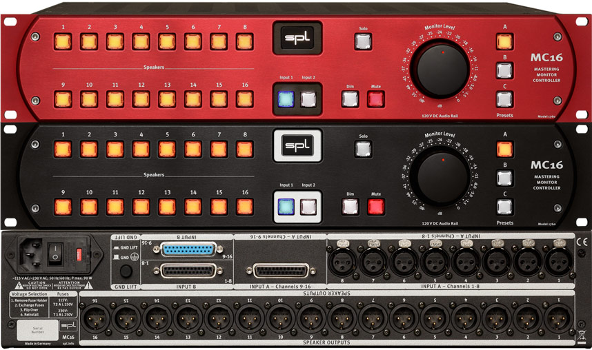SPL MC16 Monitor Controller