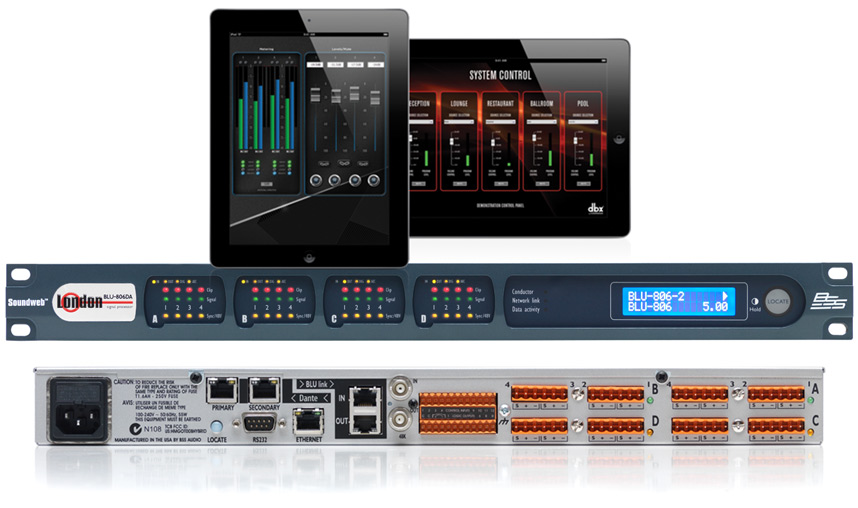 BSS SoundWeb and HiQnet Audio Architect