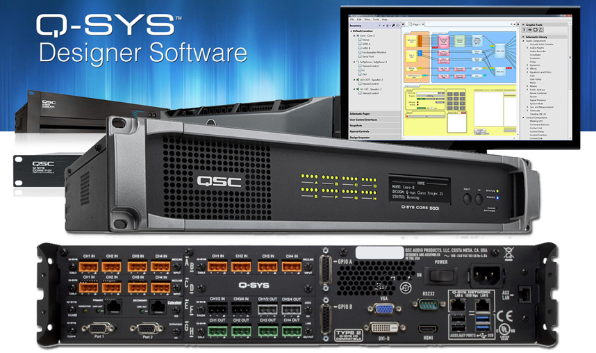 QSC Q-SYS System
