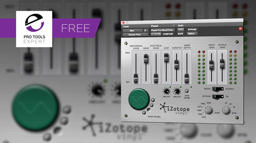 Izotope Re Release Their Free Plug In Vinyl Plug In Pro