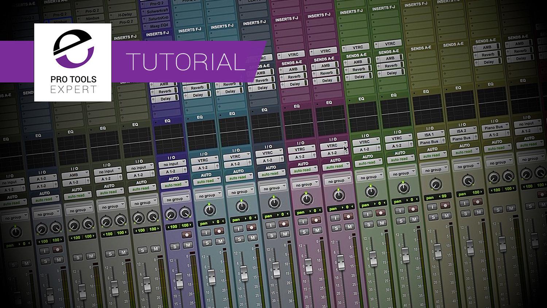 Pro Tools Tutorial Building A Custom Pro Tools Session Template