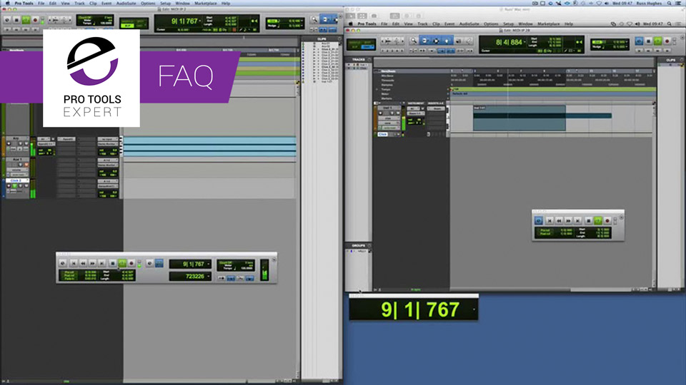 Pro Tools FAQs - How To Sync Two Systems Together