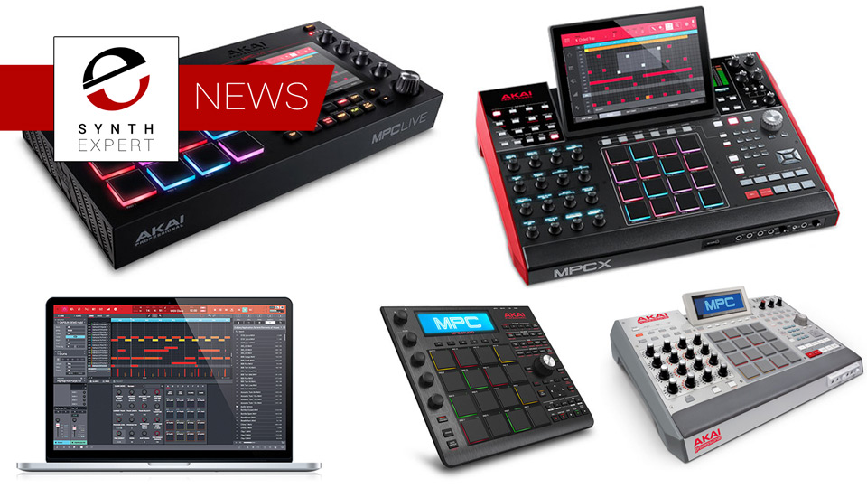 Akai Pro Announces MPC Software Has Been Updated To V2.1