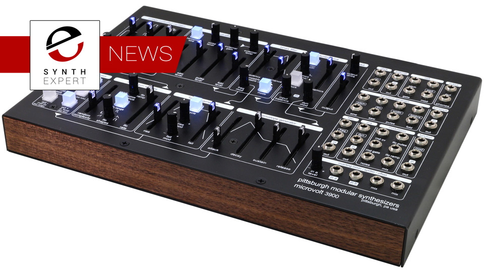 Pittsburgh Modular Synthesizers Opens Preorders For Microvolt 3900 Contemporary Analogue Monosynth