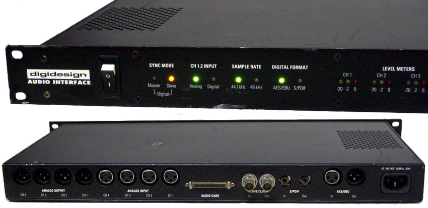 Digidesign Pro Tools 442 Interface