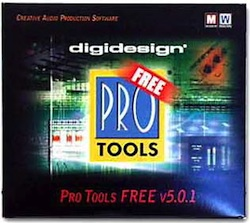 Pro Tools 5.0.1 Free Software CD