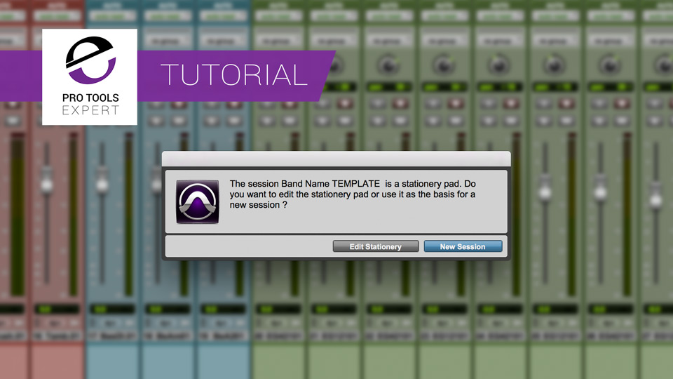 Tip - Tightening Up Your Pro Tools Tracking Session Workflow