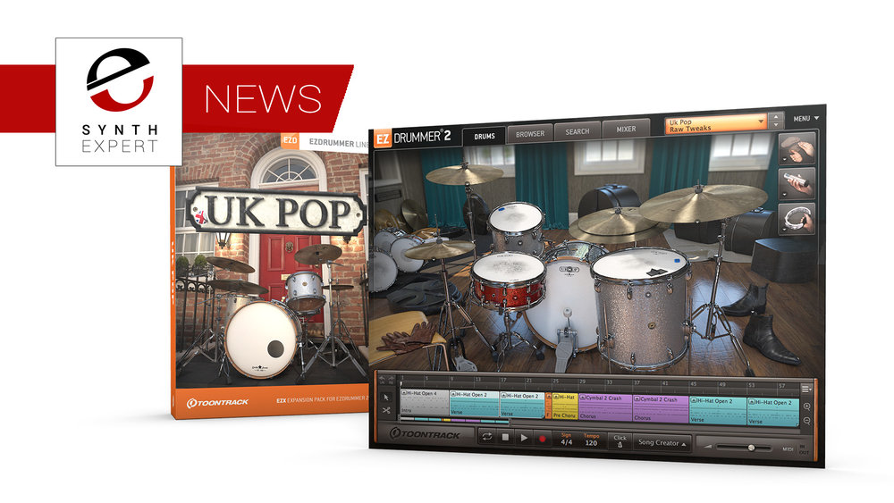 Superior Drummer Torrent : synth expert toontrack release uk pop ezx drum library for ez drummer 2 superior drummer 3 ~ Vivirlamusica.com Haus und Dekorationen