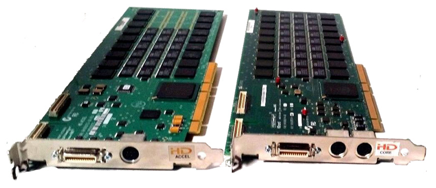 Digidesign HD Accel and Core Cards