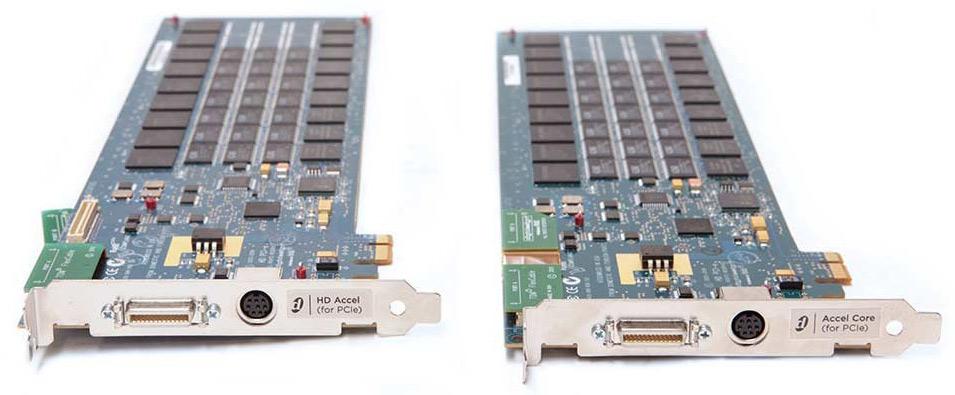 Digidesign Pro Tools HD PCIe cards
