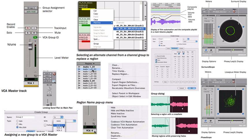 Digidesign Pro Tools 7.2 Features