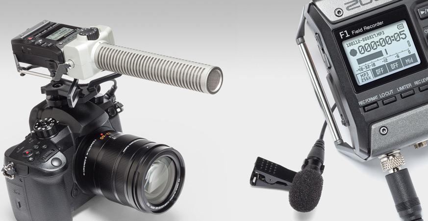 Zoom F1 Field Recorder