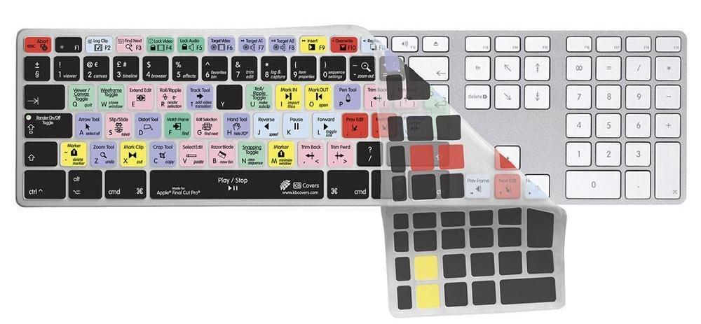 FCP X Keyboard