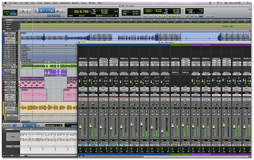 Pro Tools 9 Interface