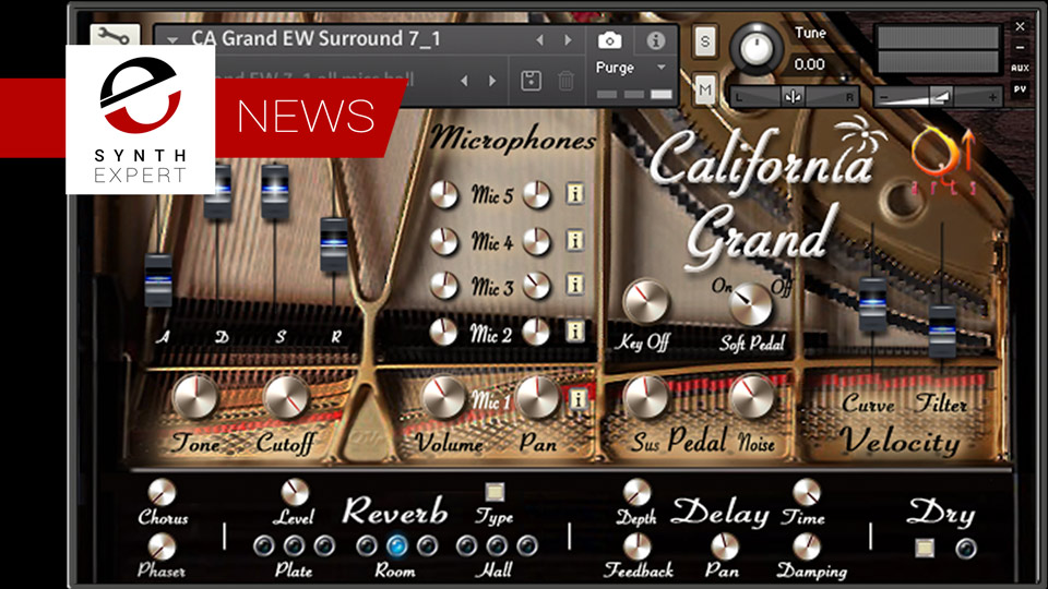 Q Up Arts Announce The Release of California Keys Keyboard Collection For KONTAKT