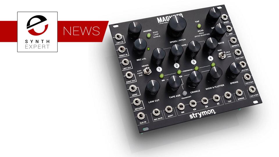 Strymon Release Four Head dTape Echo & Looper Eurorack Module