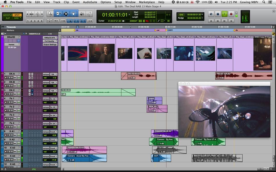 Avid Pro Tools 11 Edit Window