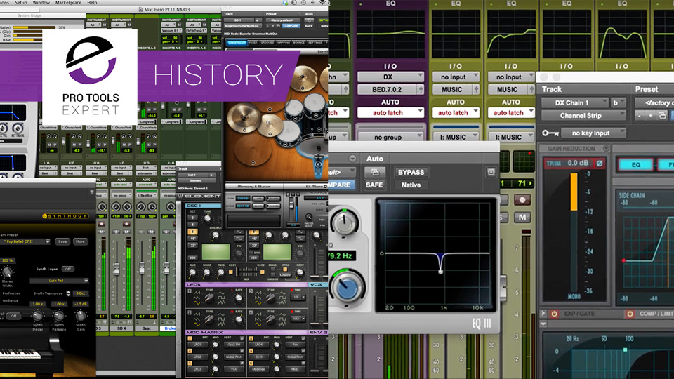 The History of Pro Tools - 2012 to 2018