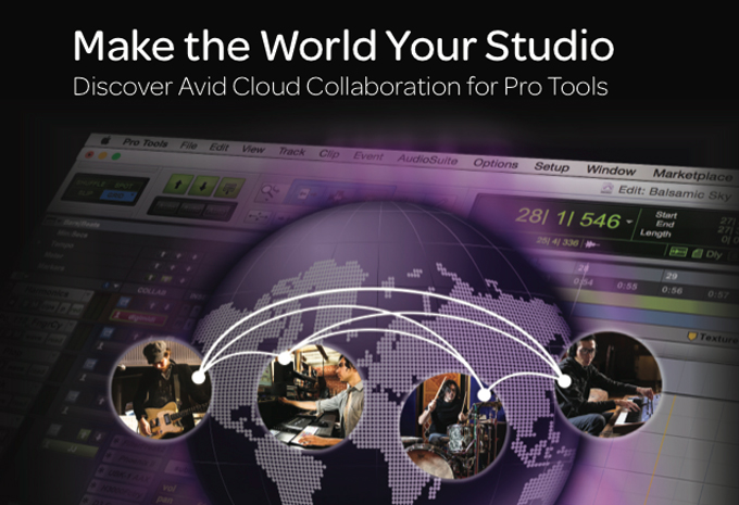 Pro Tools 12.5 Discover Avid Cloud Collaboration