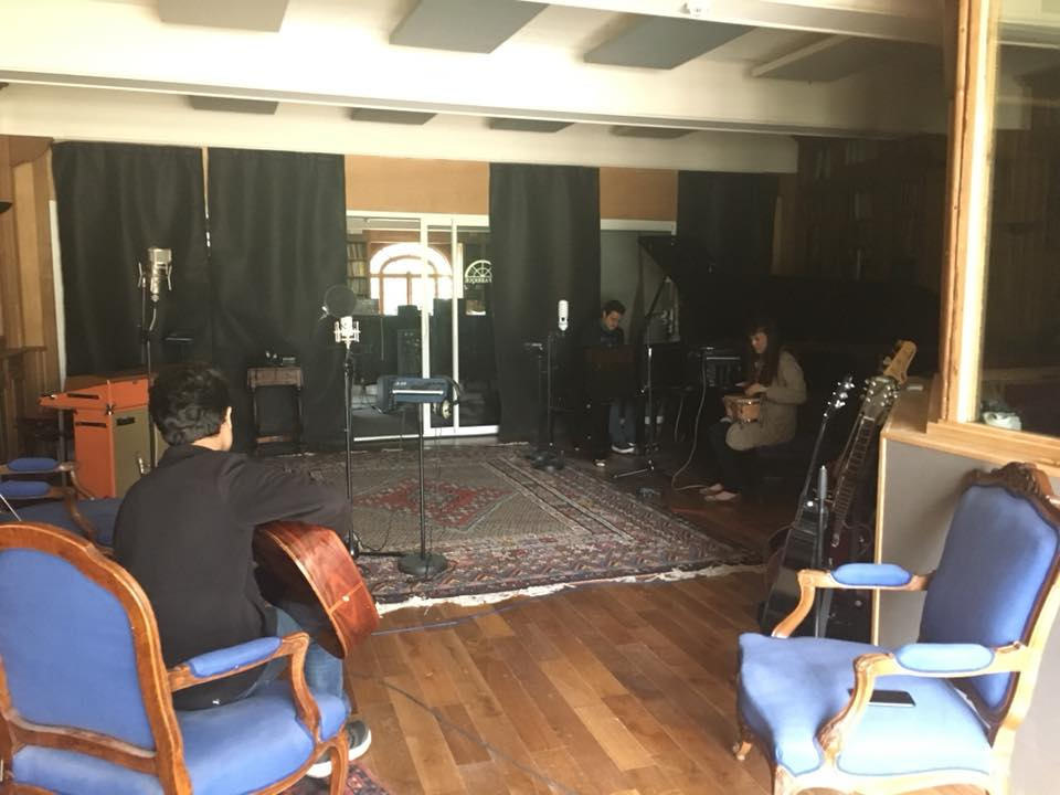The Live Room at Studios La Fabrique