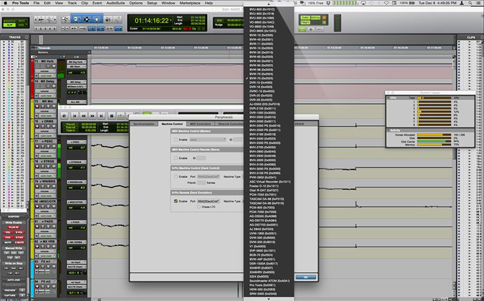 What Is Pro Tools Machine Control?