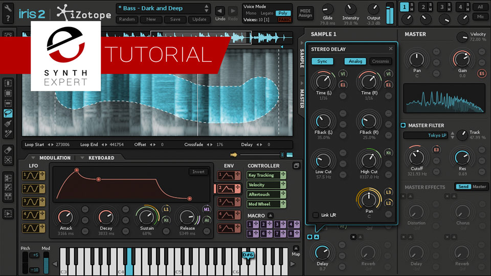 Free Tutorial - How to Learn a Synthesizer in 3 Easy Steps With iZotope Iris