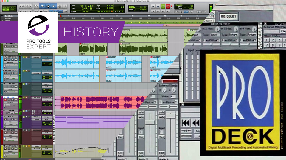 A Summary Of The History Of Pro Tools