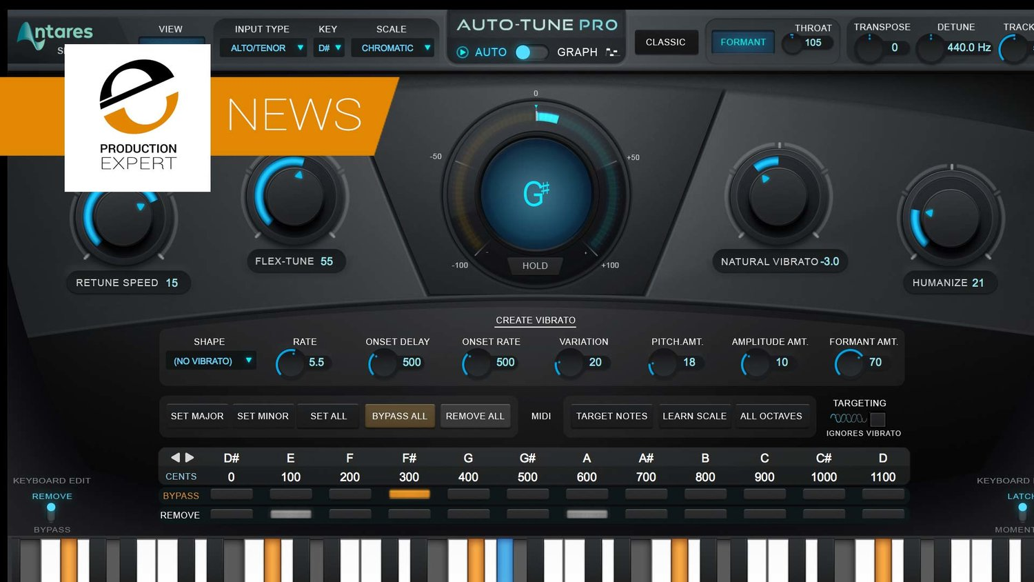 Antares Auto-Tune Pro Now Shipping | Production Expert