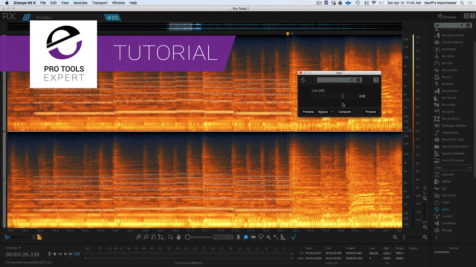 Tutorial - Using iZotope RX 6 To Make Instruments Stand Out