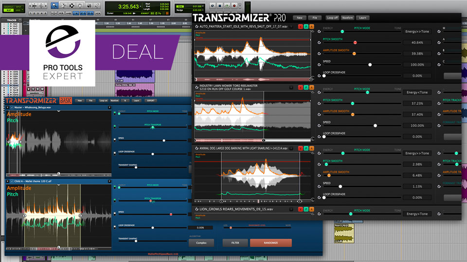 Avid Offering Up To 25% Discount On Transformizer Basic And Transformizer Pro For A Limited Period