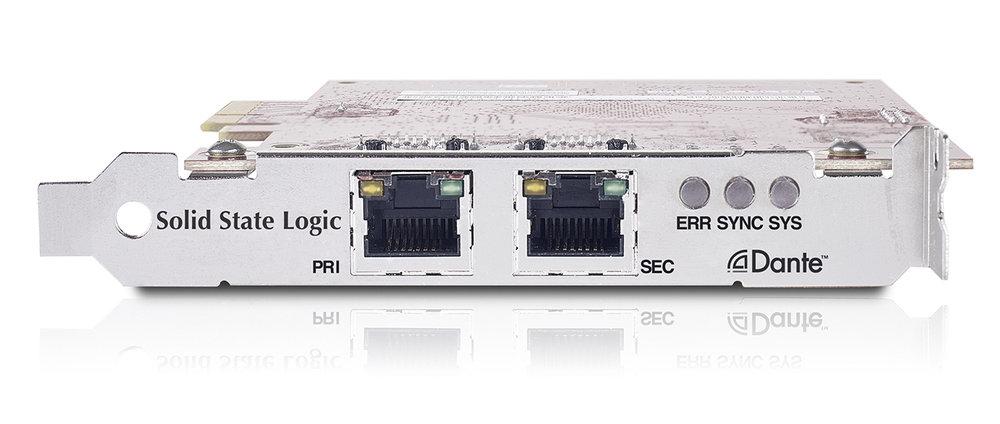 SSL Dante PCI