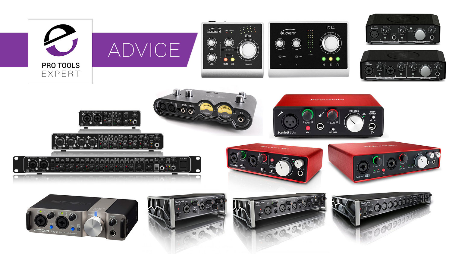 Low Cost Audio Interfaces For Pro Tools You Can Buy For