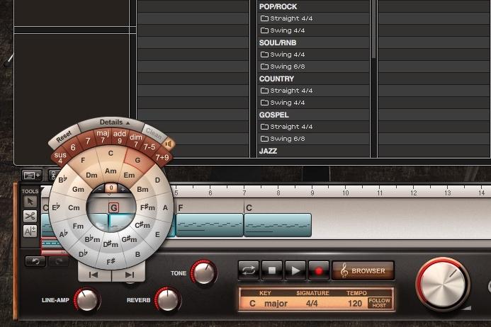 Toontrack EZkeys - Chord Wheel