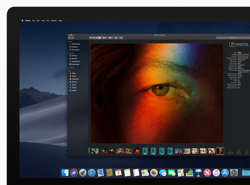 Apple Mojave Dark Mode