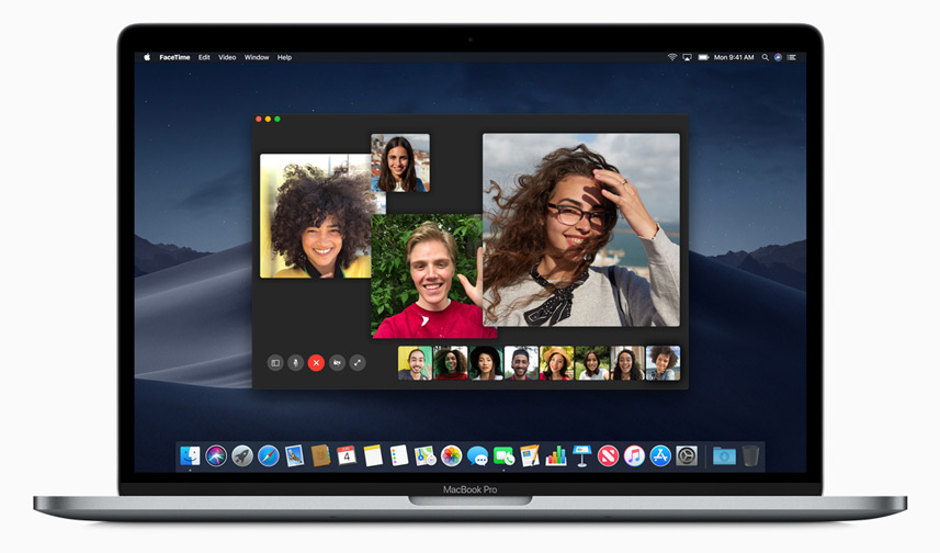 Apple macOS Mojave Multiple FaceTime