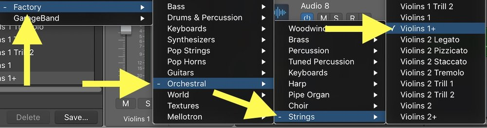 Tutorial – Tips for Using Logic Pro X's Orchestral Sounds 02 EXS 24 Preset