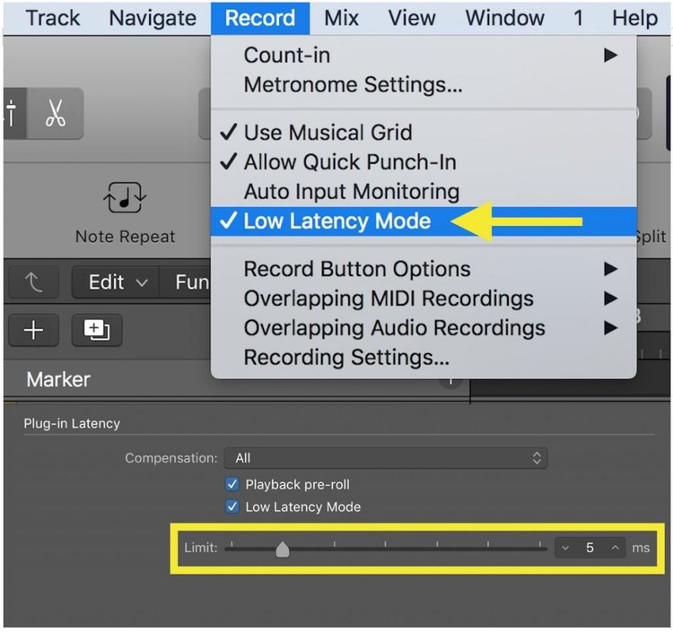 pro tools bus latency