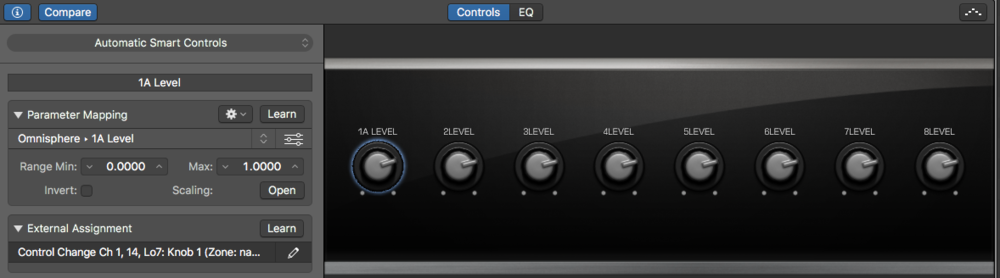 using smart controls in logic pro x