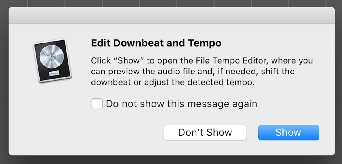 Getting Started With Smart Tempo in Logic Pro X 10 4   Logic Pro