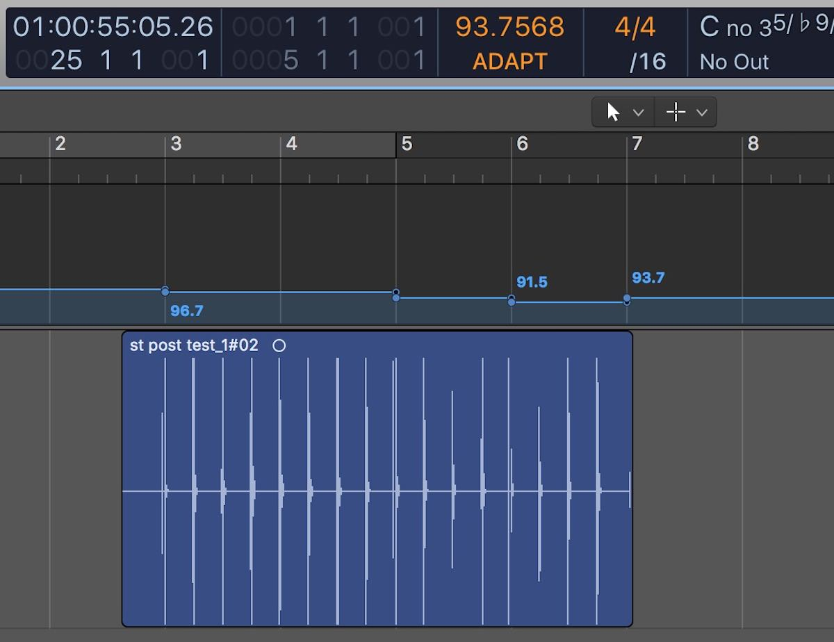Getting Started With Smart Tempo in Logic Pro X 10 4 | Logic Pro