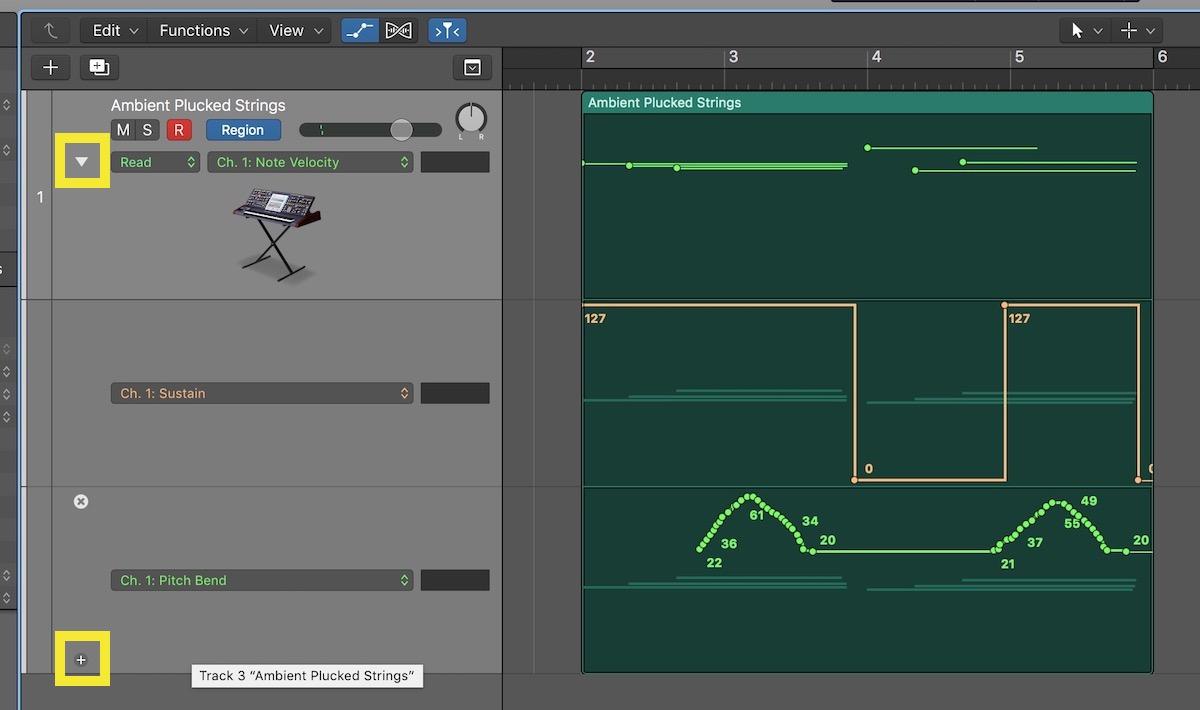 Working Without MIDI Draw in Logic Pro X 10.4