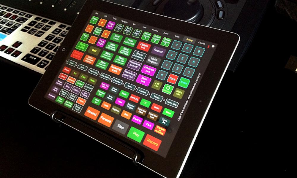 Free Logic Pro X Key Commands Template For Touchosc Logic Pro