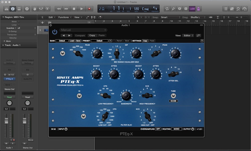 free plugin ignite amps PTEq–X