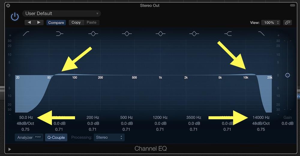 Logic Pro X Channel EQ