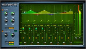 a screenshot of the interface of the McDSP ML8000
