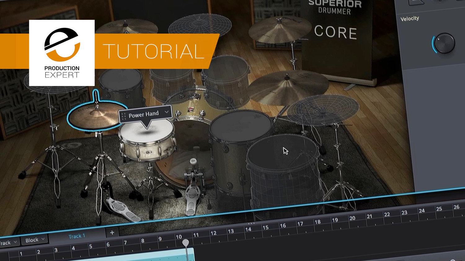 Using e drums with superior drummer